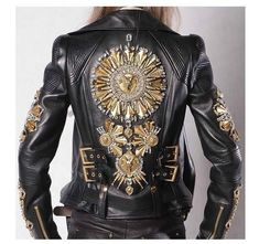 Postapokalyptische Mode: Foto - Vintage Leather Jacket Styles by Bobberbrothers - Mode Outfits, Fashion Outfits, Womens Fashion, Top Mode, Post Apocalyptic Fashion, Look Fashion, Fashion Design, Fashion Photo, Vintage Leather Jacket