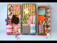 How to Make a Personaiized Locker Organizer | Sophie's World