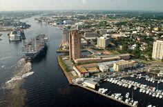 Portsmouth, VA. Where I lived in Virginia.