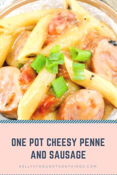 One Pot Cheesy Penne