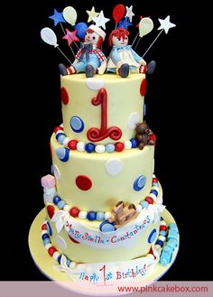 You searched for raggedy ann and andy - Pink Cake Box Custom Cakes & Pastries Images, Pink Cake Box, Raggedy Ann And Andy, Specialty Cakes, Occasion Cakes, Fancy Cakes, Creative Cakes, Cakes And More, Pastries