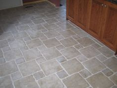 Natural Stone Kitchen Floor Tiles - The type of flooring you choose for your toilet feel of this bathroom and determines t Stone Kitchen Floor, Kitchen Tiles, Kitchen Decor, Kitchen Design, Kitchen Cabinets, Stone Flooring, Concrete Floors, Flooring Ideas, Floor Design
