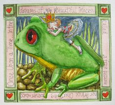 The Princess and the Frog...come ride with me....by blueshinebaby -Charlotte Hamilton