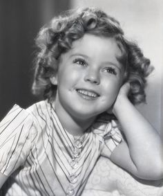 Shirley Temple aka My fifth cousin. I can die happy that my relation is pinterested.