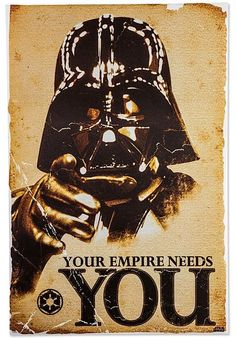 The Empire needs you, to die for the Emperors ambitions. Fan Art.