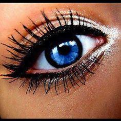 super easy eye makeup!