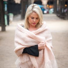 Wrap yourself in our Rose Quartz Handwoven Mohair Wrap, perfect for walks along the beach or a special evening out. Individually handcrafted in our Nantucket Looms Main Street studio from brushed mohair yarn. Truly exquisite, with outstanding luster and softness.