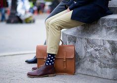 JAJA tengo unos parecidos // Polkadot Socks