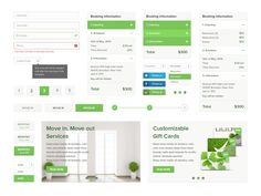 UI for Cleaning Website by Fredrik Andresen