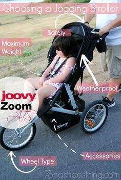Choosing a Jogging Stroller : Joovy Zoom ATS #sponsored