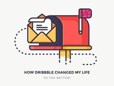 My Lifechanging Journey With Dribbble by Justas Galaburda