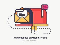 My Lifechanging Journey With Dribbble by Justas Galaburda