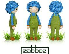 Patrón de crochet del Nenúfar Winnie PDF por Zabbez en Etsy