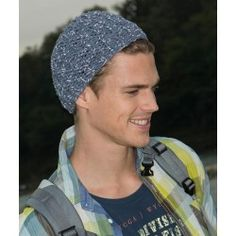 Yarns for Knitting and Crochet Patterns Knitting Patterns Free, Free Knitting, Free Pattern, Crochet Patterns, Loom Knitting, Crochet Ideas, Knit Hat For Men, Hats For Men, Summer Hats