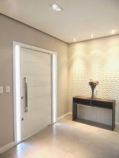 Construindo Minha Casa Clean: 50 Hall de Entrada de Casas Modernas! Veja Dicas de como Decorar! #casasmodernas