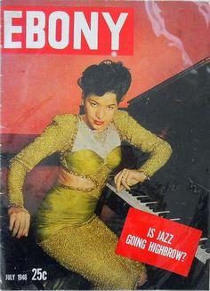 Is Jazz Going Highbrow - Ebony Magazine, July, 1946 Jet Magazine, Black Magazine, Life Magazine, News Magazines, Vintage Magazines, Vintage Ads, Vintage Vanity, Vintage Style, Vintage Fashion