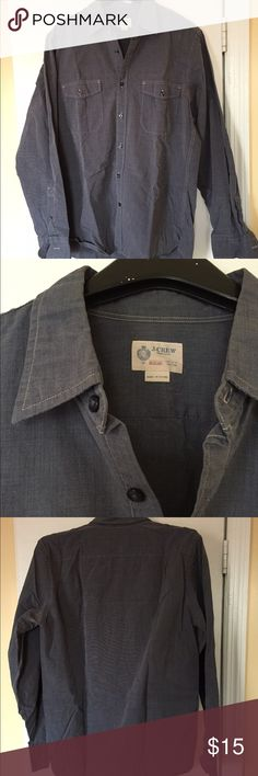 J. Crew Button up In great condition....no stains, tears, or holes. J. Crew Shirts Casual Button Down Shirts