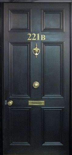 so, I started watching House M.D. on Netflix a few days ago and I realized that Sherlock and House have the same fricken door number!!!!!  I saw it in Hunting episode in season 2.