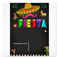 Mexican Theme Baby Shower, Mexican Fiesta Birthday Party, Fiesta Theme Party, Party Themes, Party Ideas, Farm Party Invitations, Mexican Invitations, 40th Bday Ideas, Mexico Party