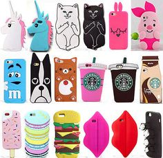 3D Cartoon Animal Soft Silicone Case Cover Back Skin For Samsung Various Phone