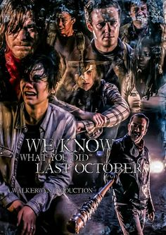 WE KNOW WHAT YOU DID LAST OCTOBER!