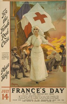 Examples of Propaganda from WW1 | WW1 Red Cross Posters Page 15
