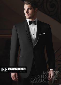 Black 'Waverly' Tuxedo from http://www.mytuxedocatalog.com/catalog/rental-tuxedos-and-suits/C1008-Black-Waverly-Slim-Tuxedo/