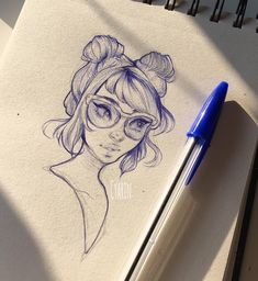 Ballpoint sketch from the other day   Working on some jobs so less time to doodle in between but I'm surely building up inspiration and motivation for after that.. Right ;A;?? Good night!! I'll try to maybe stream tomorrow if I can you can follow me on twitter (@cyarine like on here) or snapchat (screen name Cyarin) to see how stuff goes during the day but I'll post a link here too if I do go live! by cyarine