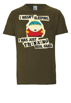 LOGOSHIRT Herrenshirt »Cartman - South Park«