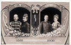 Silberhochzeit Kaiser Wilhelm II. und Kaiserin Auguste Viktoria | Flickr - Photo Sharing!