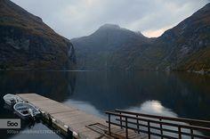 Geirangerfjord by kivelf - Pinned by Mak Khalaf