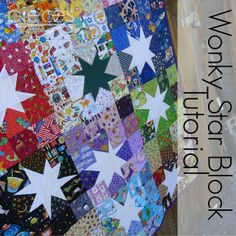 Wonky Star Block Tutorial