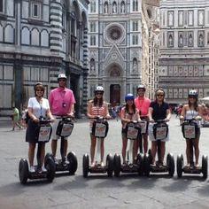 Segway Tour Florença com fones de ouvido