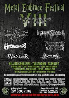 Extreme/Pagan Metal, Sachsen-Anhalt - Germany // GEPLANT 2014