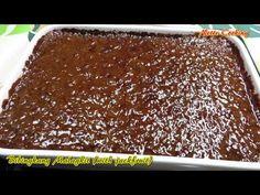 Bibingkang Malagkit = A Filipino traditional dessert made of glutinous rice and brown sugar ) optionally I made my own version by adding lan. Rice Cake Recipes, Sticky Rice Recipes, Rice Cakes, Dessert Recipes, Sticky Recipe, Pinoy Dessert, Filipino Desserts, Filipino Recipes, Filipino Food