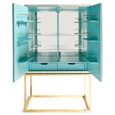 Jonathan Adler Furniture Delphine Bar @Layla Grayce So beauitful but SO expensive.