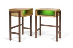 Night light table, designed by Richard Bannister.