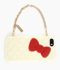Hang on... is that a phone dressed up as a #HelloKitty handbag?
