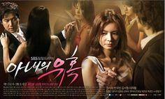 Temptation of Wife -Korea Korean Drama List, Watch Korean Drama, Korean Drama Movies, Global Tv, Drama Tv Series, Korean Shows, Drama Free, Best Dramas, Japanese Drama