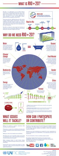 """Check out the """"What is Rio+20"""" infographics created by interns at the UN in Brussels"""