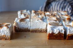 whole lemon meringue pie bars – smitten kitchen