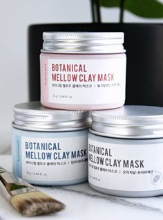 Multimasking with Bonvivant Mellow Jelly Clay Masks
