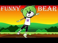 Je m'appelle Funny Bear (Paroles) - YouTube