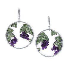 Martin Katz Grape Earrings