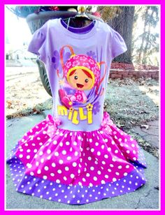 girls custom boutique knit twirl party by BlossomBlueBoutique, $39.99
