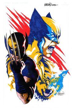 Jason Paz - Wolverine Comic Art