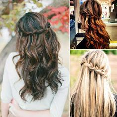 Bridesmaids Hairstyles for Long Hair-26