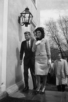 JFK And Jackie 1962