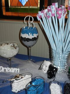 candy buffet at my daughter's sweet 16 party