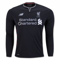 £22.99 Liverpool Away Long Sleeve Shirt 2016 2017 Football Shirts 8967580f0